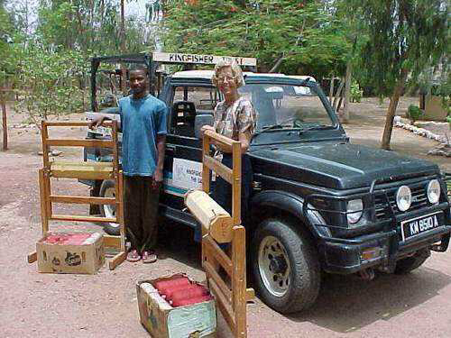 A donation of 2 Weaving Machines to